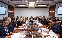 Регулирование надзорной иконтрольной деятельности вобласти пожарной безопасности стало темой совместного заседания комитетов СФ