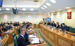 Председатель СФ провела встречу сенаторов сМинистром энергетики России вформате открытого диалога