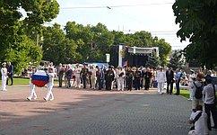 В. Куликов принял участие впраздновании Дня Военно-Морского Флота вСевастополе