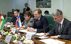 А. Кутепов встретился спредседателем Комитета Государственного собрания Венгрии повопросам юстиции