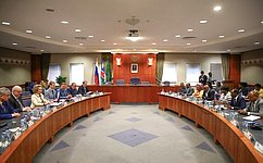 Председатель Совета Федерации провела встречу сПредседателем Национального совета Намибии
