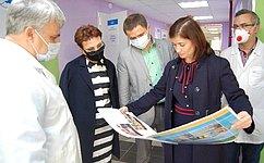 Т. Кусайко: ВМурманской области уделяется большое внимание развитию детского здравоохранения