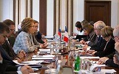 В.Матвиенко: Франция остается одним изведущих партнеров России вЕвропе