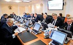 Комитет СФ поРегламенту иорганизации парламентской деятельности рассмотрел поправки вРегламент палаты