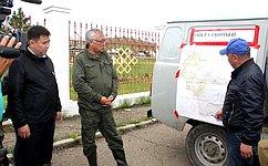 Ситуация, связанная спаводком вреках Забайкальского края, находится под контролем–Б.Жамсуев