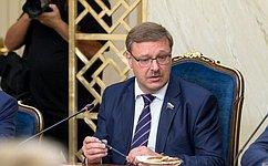 Диалог российских иамериканских парламентариев вравной степени отвечает интересам РФ иСША— К.Косачев
