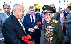 В. Рязанский принял участие вмероприятиях, посвященных 75-й годовщине победы вКурской битве
