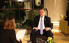 Россия иСербия будут чувствовать себя комфортно только вобъединенной Европе– К.Косачев