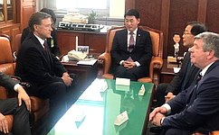 Делегация Комитета Совета Федерации побюджету ифинансовым рынкам находится свизитом вРеспублике Корея