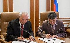 Подписан План совместных действий законодателей России иАбхазии на2013– 2014годы