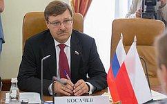 Глава Комитета СФ помеждународным делам иПосол Республики Польша обсудили состояние иперспективы развития российско-польских отношений