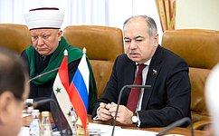 Сенаторы ведут постоянный диалог спредставителями Сирии— И.Умаханов