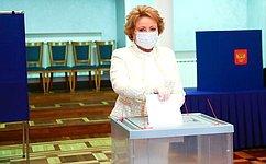 В. Матвиенко: Поправки вКонституцию фиксируют достигнутый объем социальных гарантий иобязательств государства перед гражданами