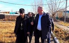 В. Наговицын обсудил вопросы организации ТОС вБурятии