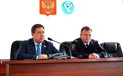 Взаимодействие сенаторов сорганами исполнительной власти субъектов носит системный характер– В.Полетаев