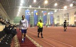 А.Кутепов: Заслуживает признания иуважения традиция, которая призвана поминать погибших спортивными состязаниями