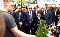 На«Кубанской Ярмарке» предприниматели края ежегодно представляют новые проекты иразработки— А.Кондратенко