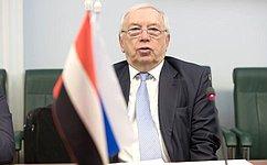 В.Лукин: ВСовете Федерации внимательно следят заситуацией вокруг Йеменской Республики
