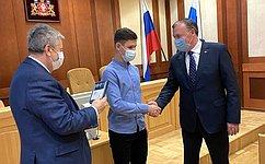 А. Чернецкий: Чествование юных героев вСвердловской области стало уже доброй традицией