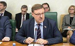 ВСовете Федерации обсудили перспективы развития российско-американских отношений