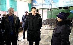 С. Леонов проинспектировал ряд социально значимых объектов Смоленской области