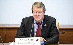 В.Харламов: Необходимо укреплять позиции потребительской кооперации, придать ей «второе дыхание»