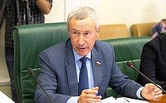 ВСовете Федерации обсудили процесс подготовки кединому дню голосования сточки зрения защиты российского электорального суверенитета