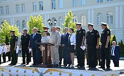 В. Куликов принял участие вцеремонии открытия отборочного этапа Кадетских игр вСевастополе