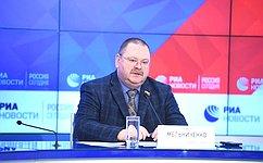 Российские парламентарии готовы способствовать развитию регионального сотрудничества сКНДР— О.Мельниченко