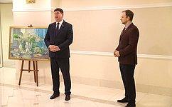 ВСовете Федерации открылась выставка картин художника И.Лысенкова