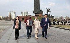 В. Полетаев: Память овеликом подвиге нашего народа вгоды Великой Отечественной войны должна быть вечной