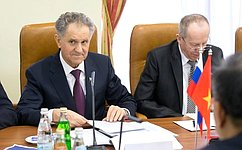 А.Волков: Межпарламентские связи– важная часть всеобъемлющего стратегического партнерства России иВьетнама