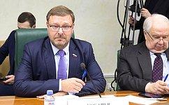 Привлечение иностранных студентов повысит авторитет российского образования— К.Косачев
