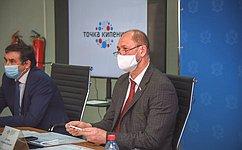 В. Лакунин: Сейчас особо важно поддержать предприятия, внедряющие впроизводство прорывные технологии