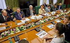 Сенаторы поздравили членов Молодежного парламента Новосибирской области суспешно проведенными выборами