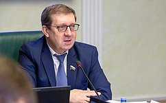А.Майоров провел расширенное заседание Комитета СФ поаграрно-продовольственной политике иприродопользованию