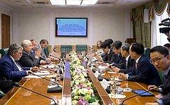 С.Кисляк встретился спарламентской делегацией Республики Корея