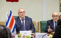 А. Клишас: Мы заинтересованы вразвитии межпарламентского диалога сколлегами изКоста-Рики надвусторонней основе ивмногостороннем формате