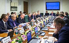 Комитет СФ поэкономической политике поддержал изменения взаконодательство поосновным направлениям налоговой политики