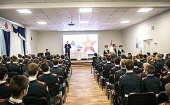 Ю.Воробьев: Напримере подвигов героев мы воспитываем наших детей ивнуков