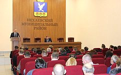 Врамках обсуждения поправок вКонституцию РФ С.Горняков провел ряд встреч вВолгоградской области