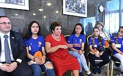 Л.Глебова: Совместная деятельность детей изразных стран будет пробуждать любовь иинтерес крусскому языку