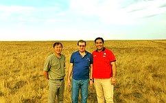Алексей Майоров посетил Республику Калмыкия срабочим визитом