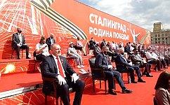 Н. Семисотов: Наш долг– чтить подвиг отцов идедов
