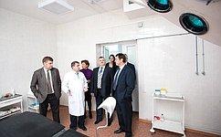 А. Голушко поздравил коллектив Шербакульской больницы со100-летием содня ее основания