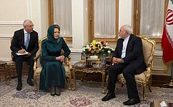 Председатель Совета Федерации иглава МИД Ирана провели переговоры