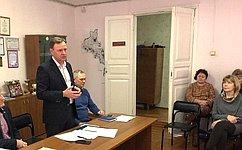 В. Новожилов посетил муниципальные образования Вельского района Архангельской области