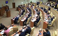 В. Харлов принял участие впервом заседании Законодательного Собрания Ульяновской области