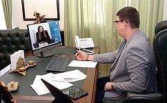 В. Смирнов принял участие вовсероссийской акции «Библионочь-2020», приуроченной кпразднованию 75-летия Победы