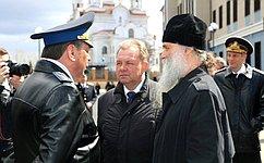 В.Павленко принял участие воткрытии новой базы дивизиона пограничных катеров вАрхангельске